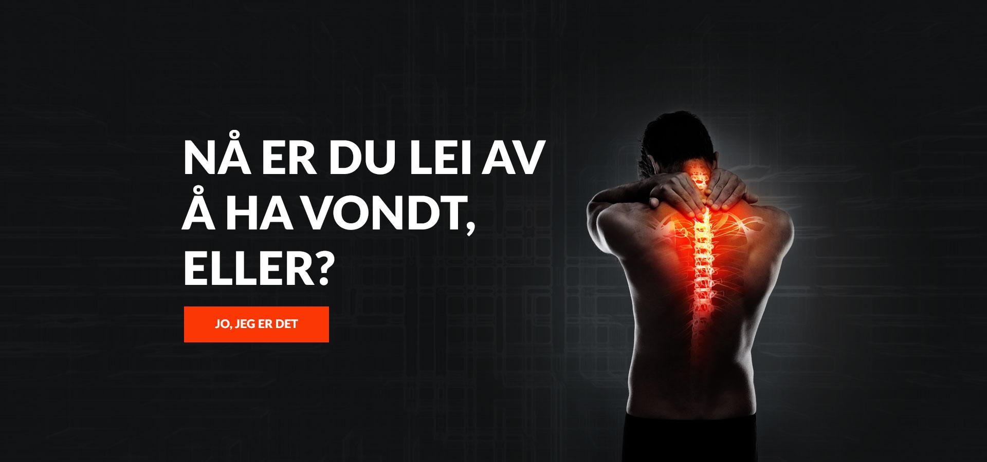 Naprapat i Fredrikstad – Nå er du lei av å ha vondt, eller?