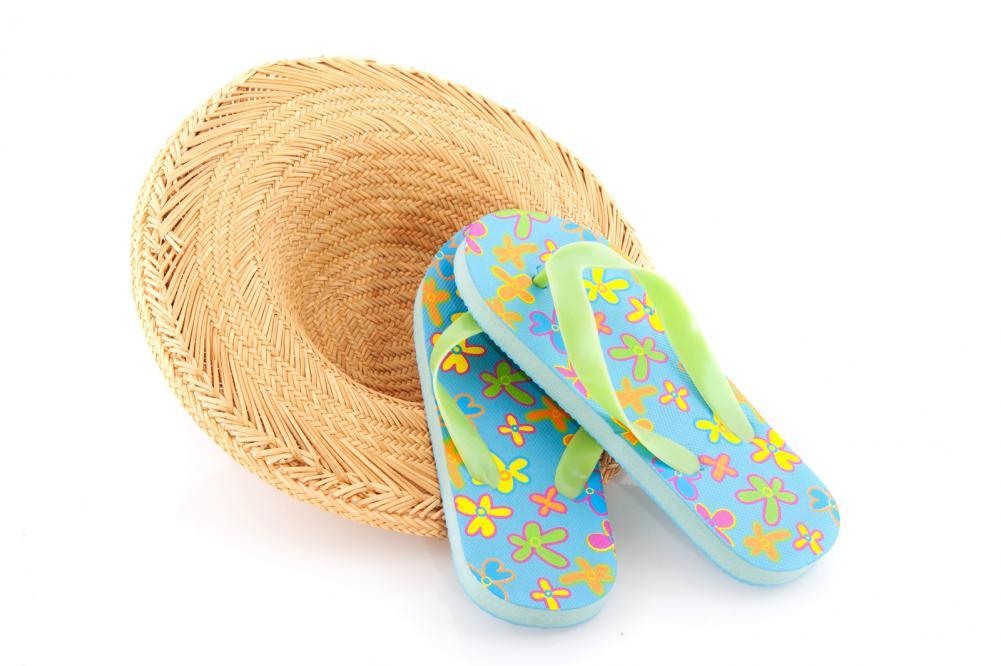 hatt og sandaler