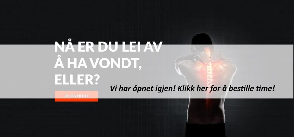 forsidebilde naprapat - Fredrikstad Rygg- og Leddsenter - åpnet igjen